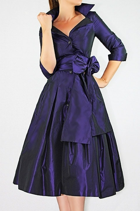 Amethyst Silk Radzmir Dior Dress