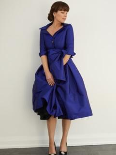 Cobalt Royal Taffeta Dior Dress