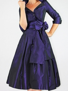 Amethyst Silk Radzmir Dior Dress