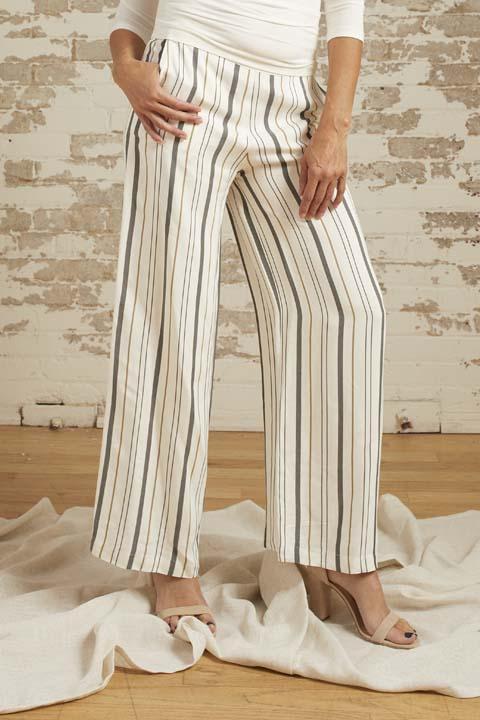 Chloe Striped Wide Leg Pant