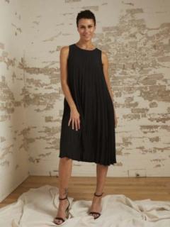 Gabriella Plissé A-Line Dress