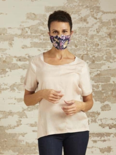 Kate Nude T-Shirt and Ross Mayer Masks