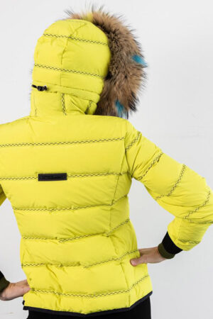 Lindsay, SPORTALM Chartreuse Down Jacket